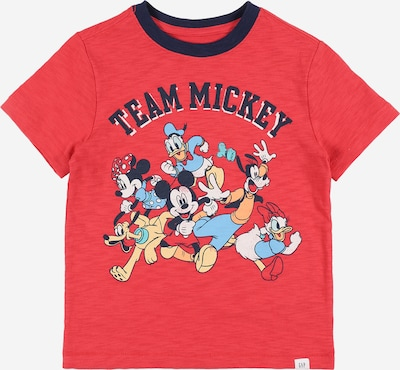 GAP Shirt 'DIS SS MICKEY GRAPHICS' in de kleur Rood, Productweergave