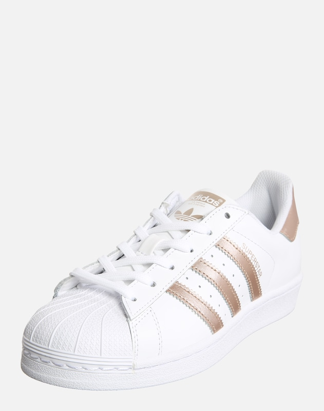 ADIDAS ORIGINALS Sneaker 'Superstar' in gold / weiß