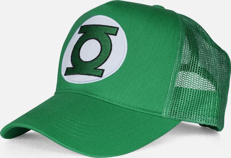 LOGOSHIRT Trucker Cap 'Green Lantern �?Logo'