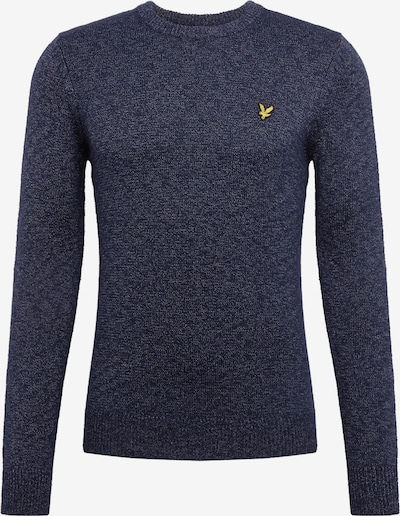 Lyle & Scott Pulover 'Mottled Jumper' u mornarsko plava, Pregled proizvoda