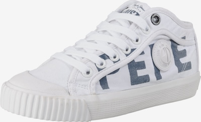 Pepe Jeans Sneakers Low 'Industry Logo' in blau / weiß, Produktansicht