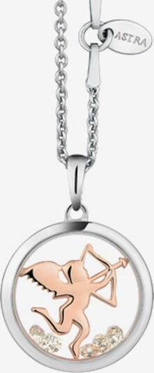 Astra Kette mit Anhänger 'BE MINE' in rosegold / silber, Produktansicht