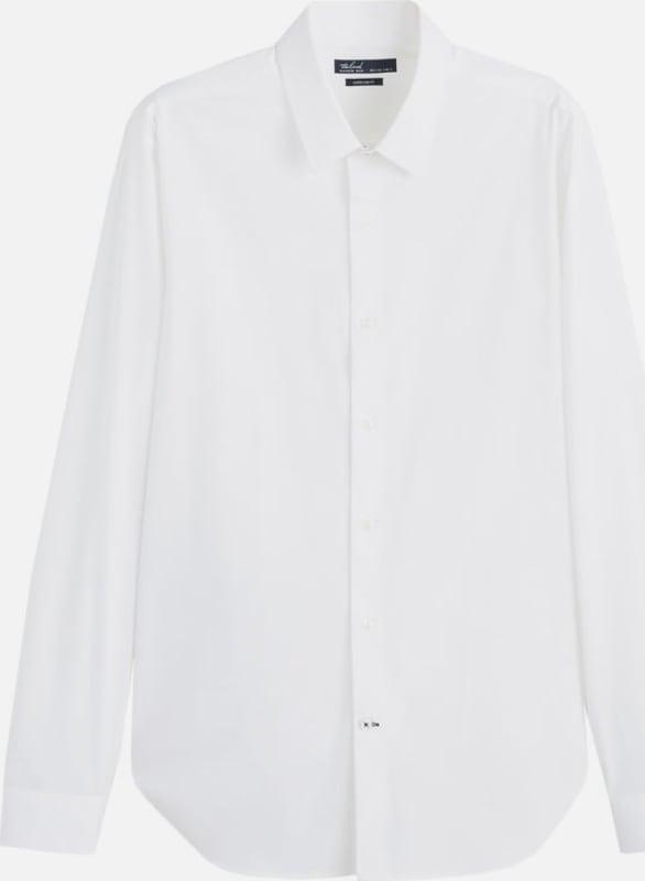 MANGO MAN Hemd 'Emotion4' in weiß  Große Preissenkung