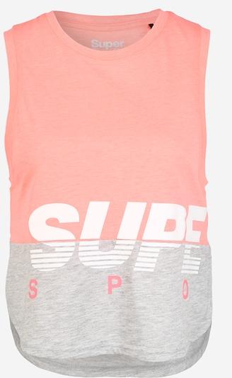 Superdry Top | pegasto siva / korala barva, Prikaz izdelka