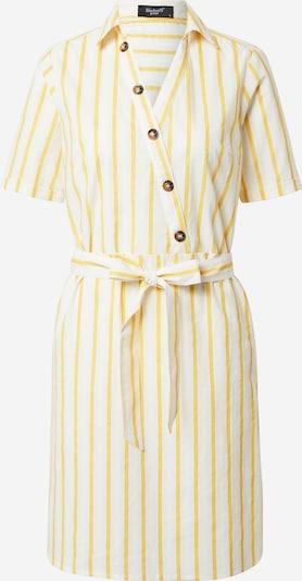 SISTERS POINT Zomerjurk 'VARAS' in de kleur Geel / Offwhite, Productweergave