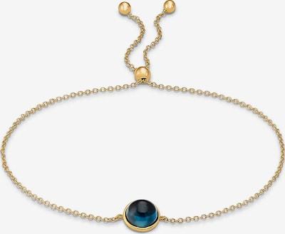 CHRIST Armband in blau / gold, Produktansicht