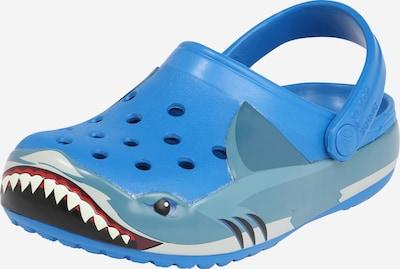 Crocs Otevřená obuv 'Shark' - modrá: Pohled zepředu