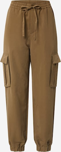 Urban Classics Hose 'Ladies Viscose Twill Cargo Pants' in braun, Produktansicht