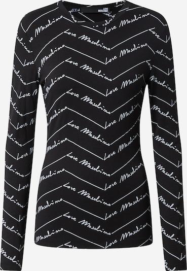 Love Moschino Shirt in de kleur Zwart / Wit, Productweergave