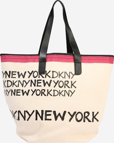 DKNY Tasche 'CORI' in beige / rot / schwarz, Produktansicht
