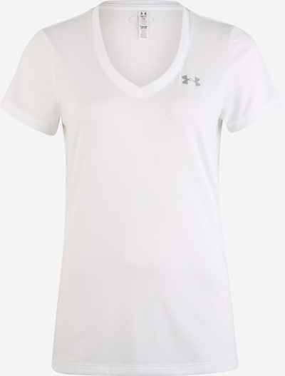UNDER ARMOUR T-shirt fonctionnel 'Tech Solid' en blanc, Vue avec produit