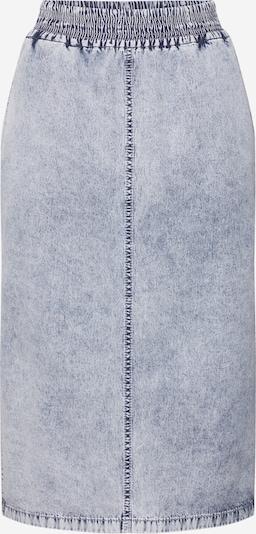 DRYKORN Rock 'CILL' in grey denim, Produktansicht