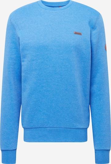 Ragwear Sweatshirt 'INDIE' in himmelblau: Frontalansicht