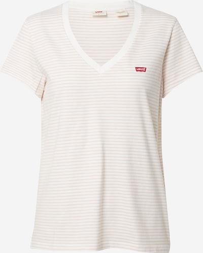 LEVI'S T-shirt en beige / blanc, Vue avec produit