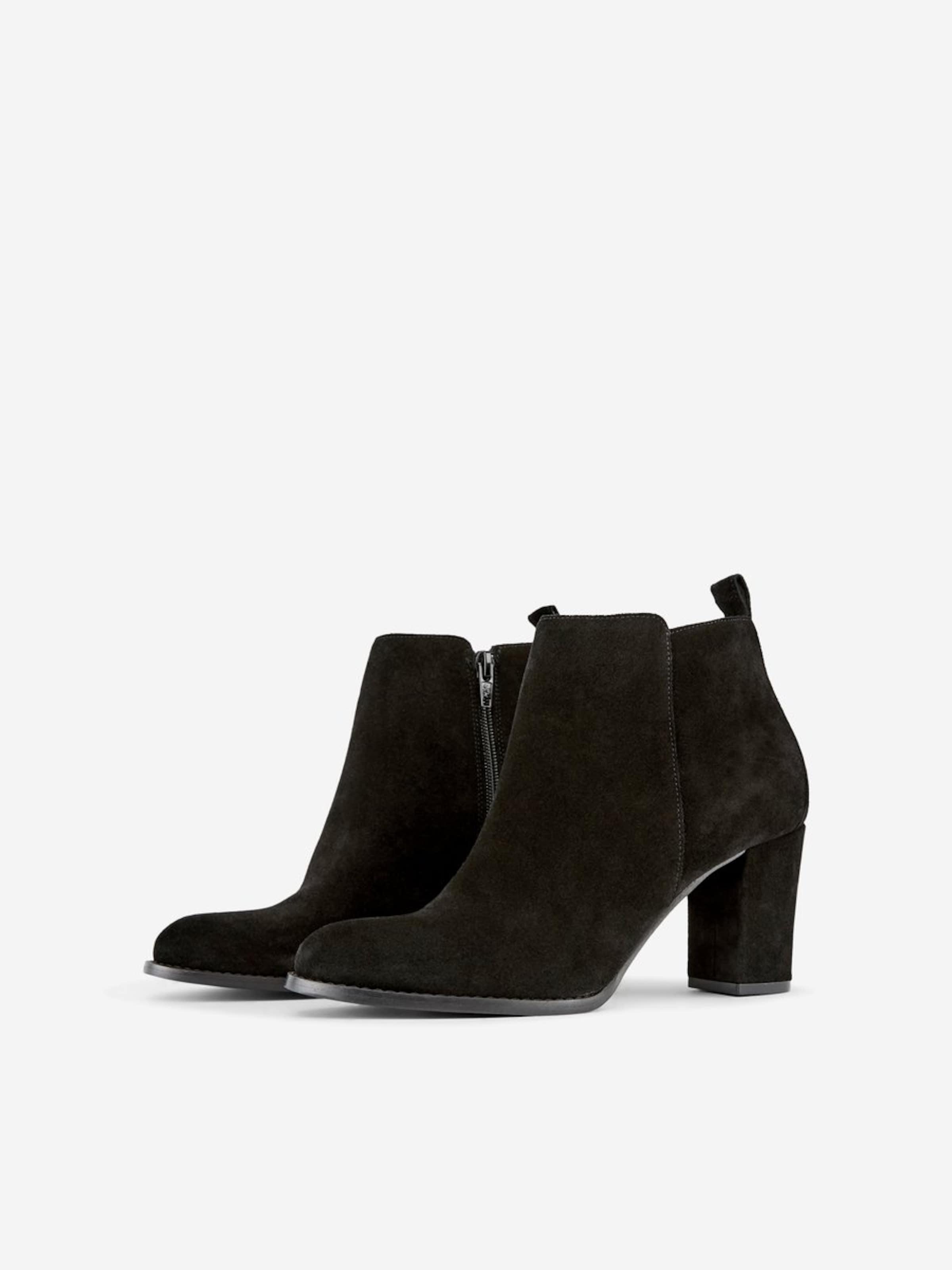 Boots Pieces Noir Chelsea En PkZiXu