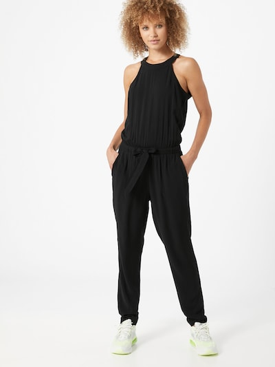 TOM TAILOR DENIM Jumpsuit in schwarz, Modelansicht