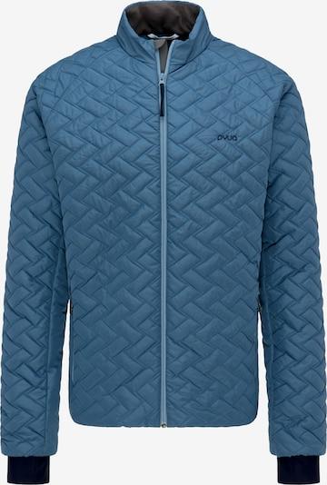 PYUA Outdoorjas 'Ray' in de kleur Blauw, Productweergave