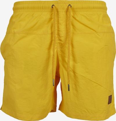 Urban Classics Plavecké šortky - žltá, Produkt