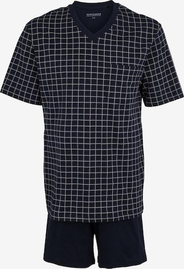 SCHIESSER Krátke pyžamo - tmavomodrá / sivá, Produkt