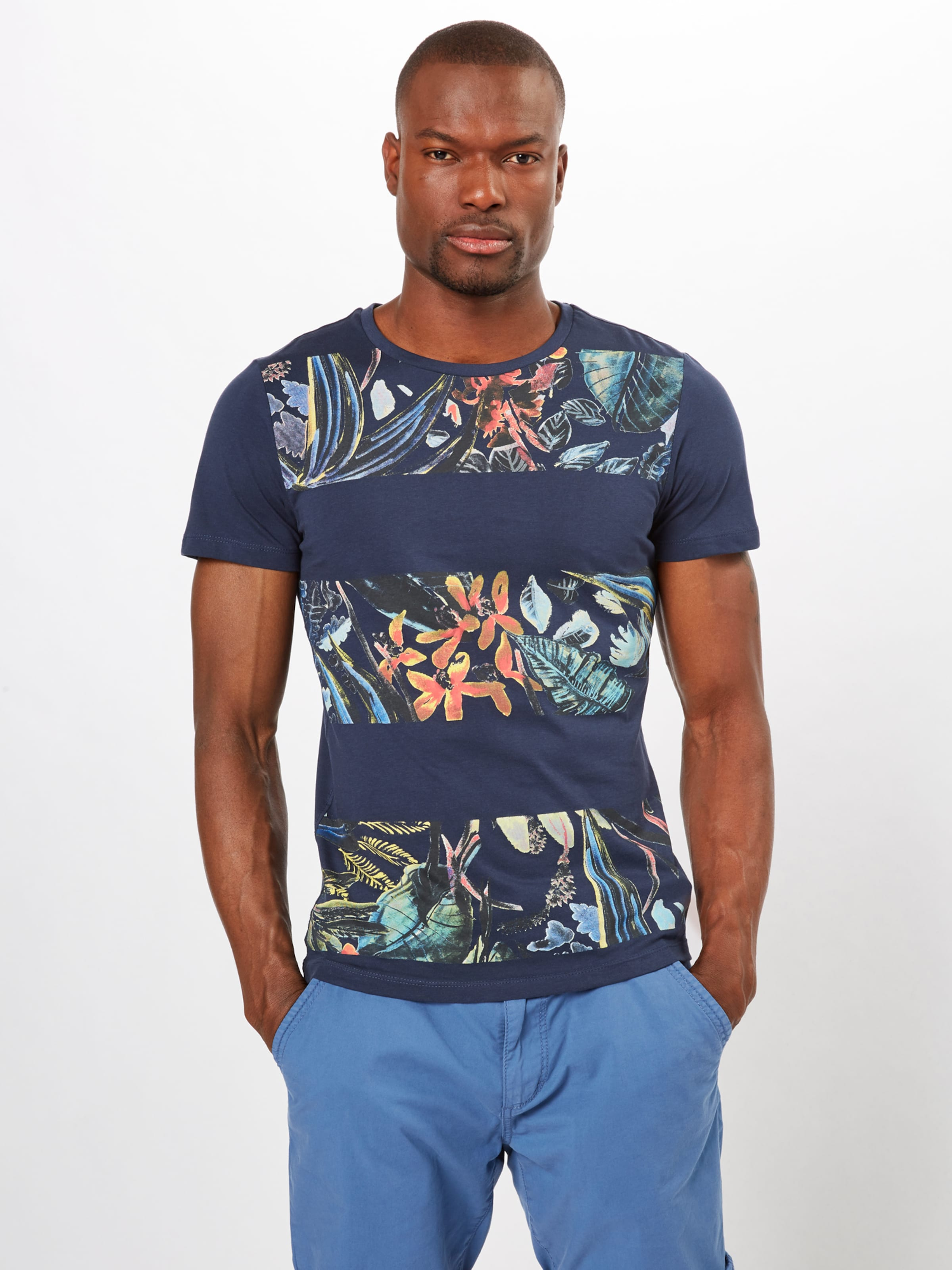 shirt Label Red S T Blau oliver In UpSzMV