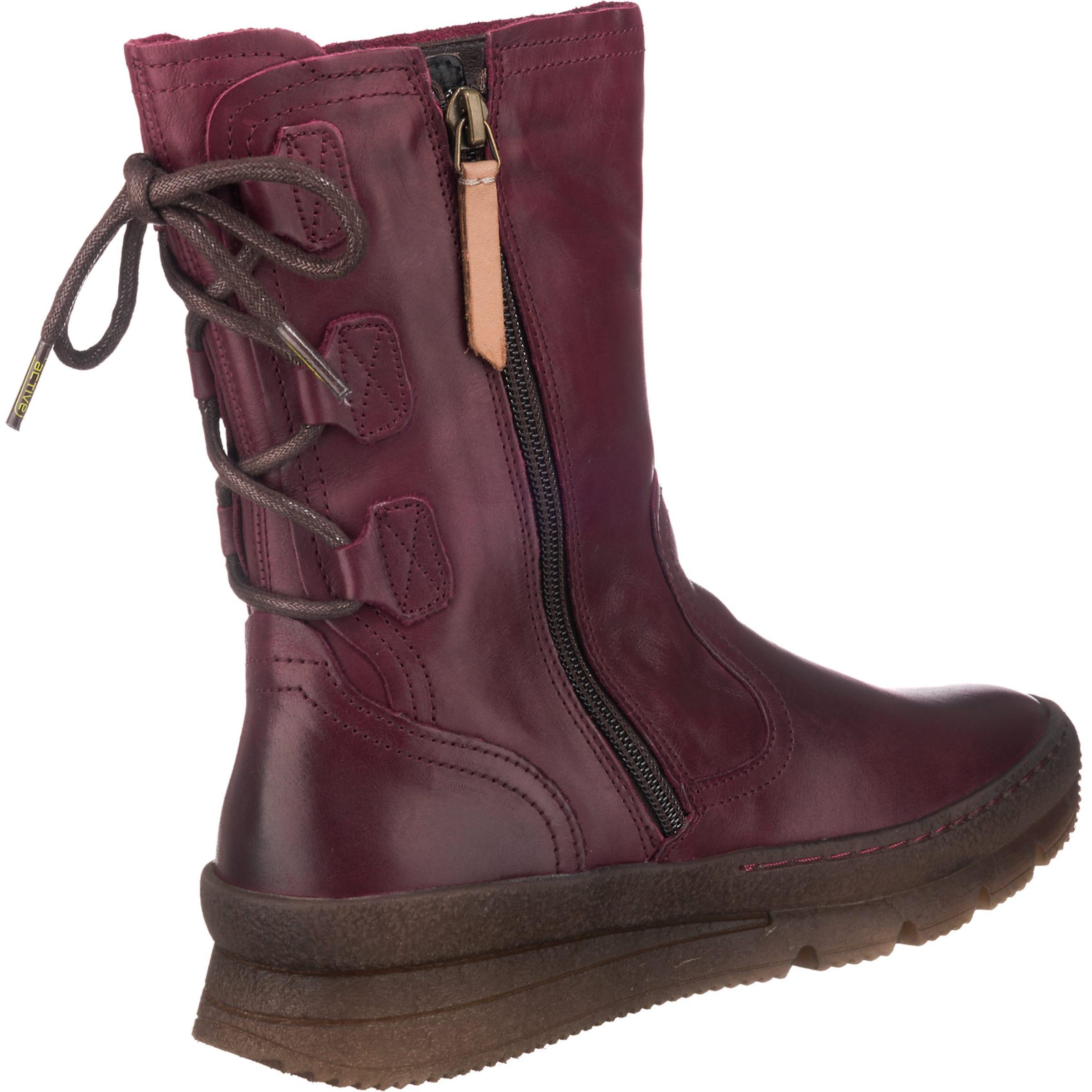 Bordeaux 'authentic In Camel 73' Stiefel Active TlZPkiOXwu