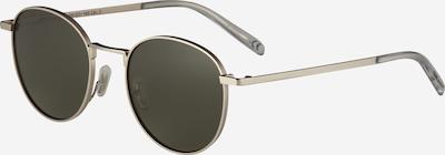 TAKE A SHOT Sonnenbrille 'Arin: Silber - Grün' in silber, Produktansicht