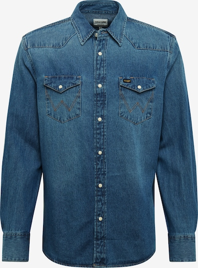 WRANGLER Hemd in blue denim, Produktansicht