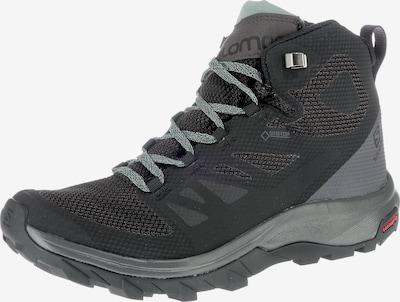 SALOMON Wanderstiefel 'Outline MID GTX' in grau / schwarz, Produktansicht