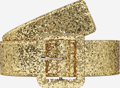 McQ Alexander McQueen Ceinture 'SQUARE RING BELT' en or, Vue avec produit