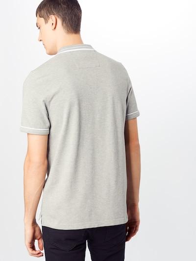 Banana Republic Shirt 'I Tipped Pique Polo' in de kleur Grijs: Achteraanzicht