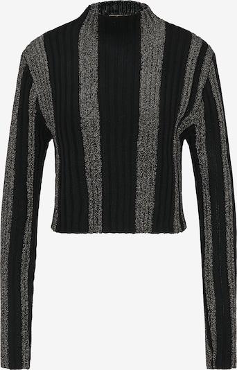 faina Pullover in schwarz / silber, Produktansicht