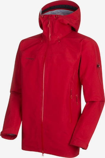 MAMMUT Jacke 'Crater HS' in rot: Frontalansicht