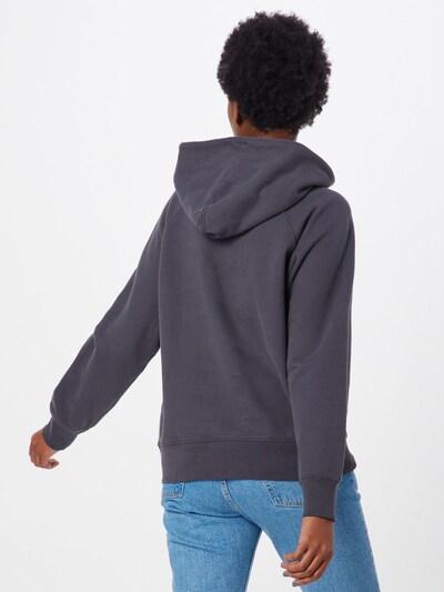 LEVI'S Sweatshirt 'GRAPHIC' in anthrazit: Rückansicht