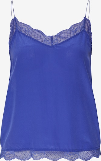 Custommade Top 'Pouline Top' in blau, Produktansicht