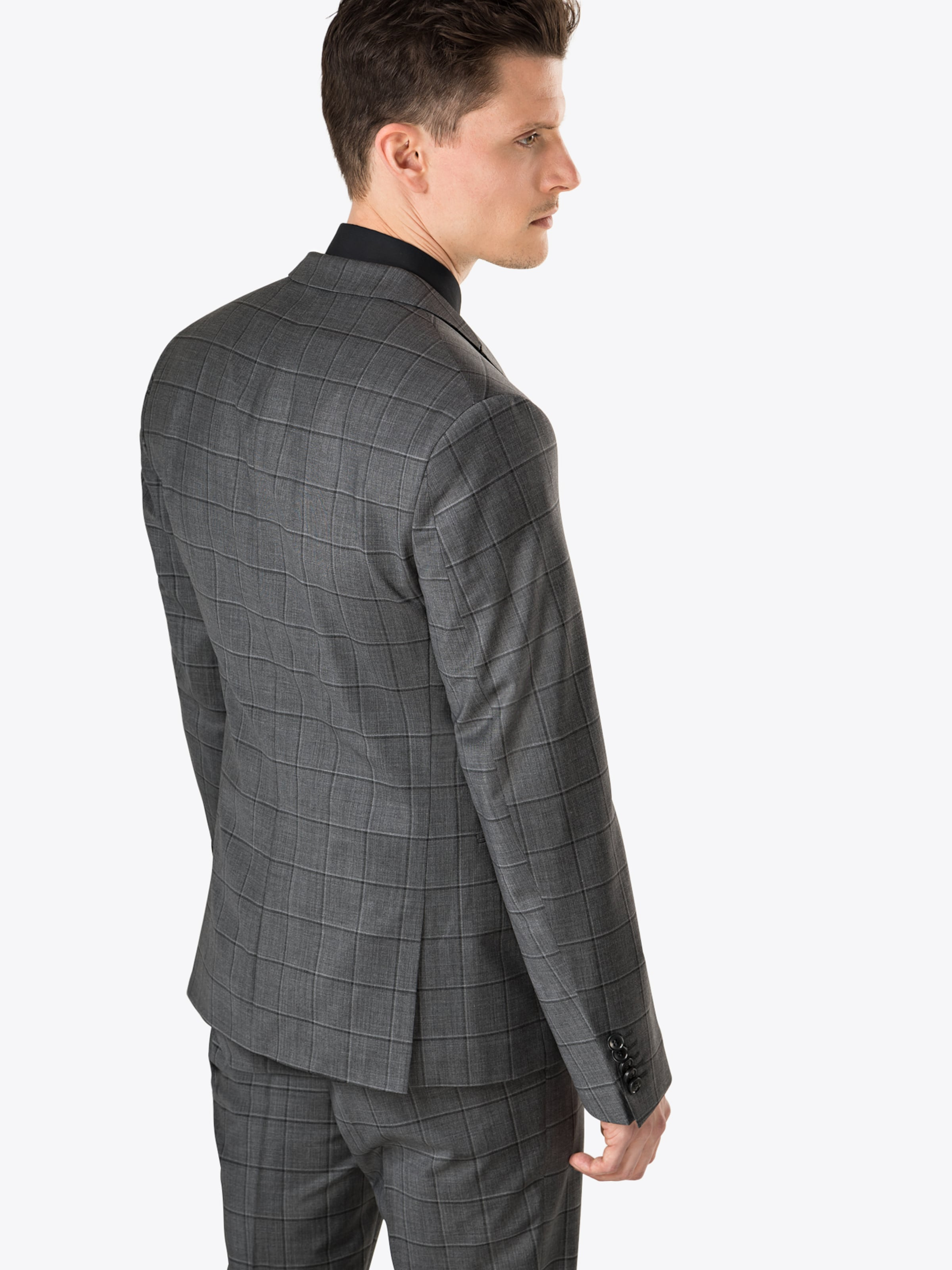 Drykorn Anzug In 'p irving' Dunkelgrau K1FJcTl3
