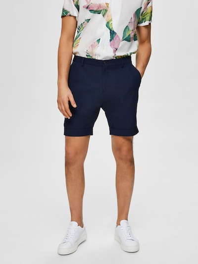 SELECTED HOMME Shorts in navy, Modelansicht
