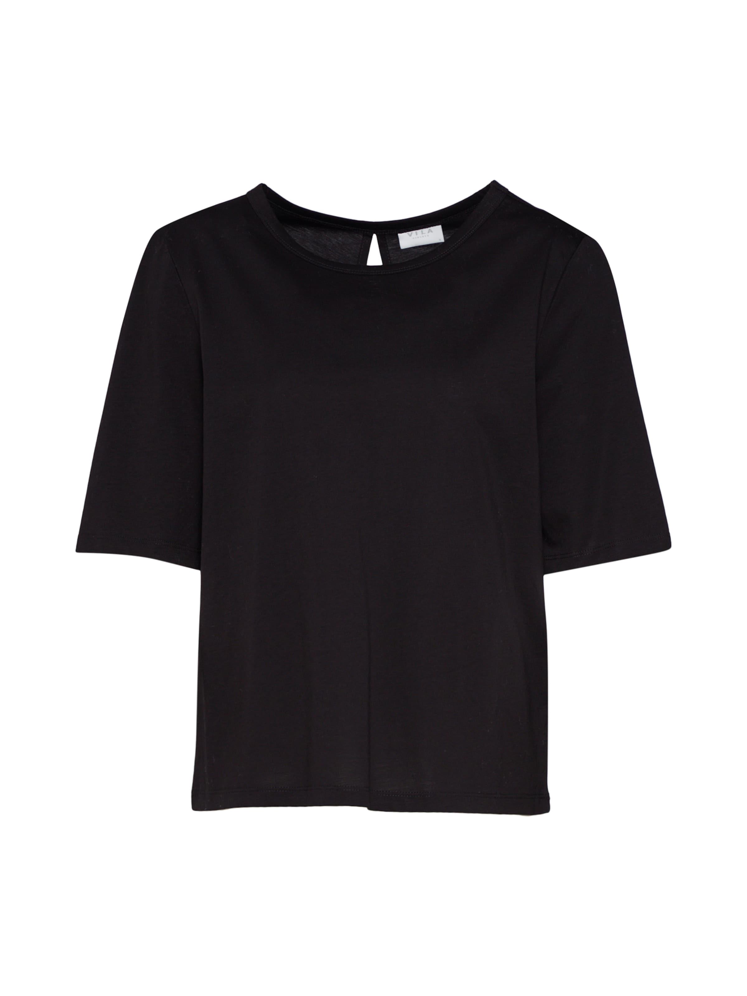 Noir Vila En T shirt Vila CdxBWoer