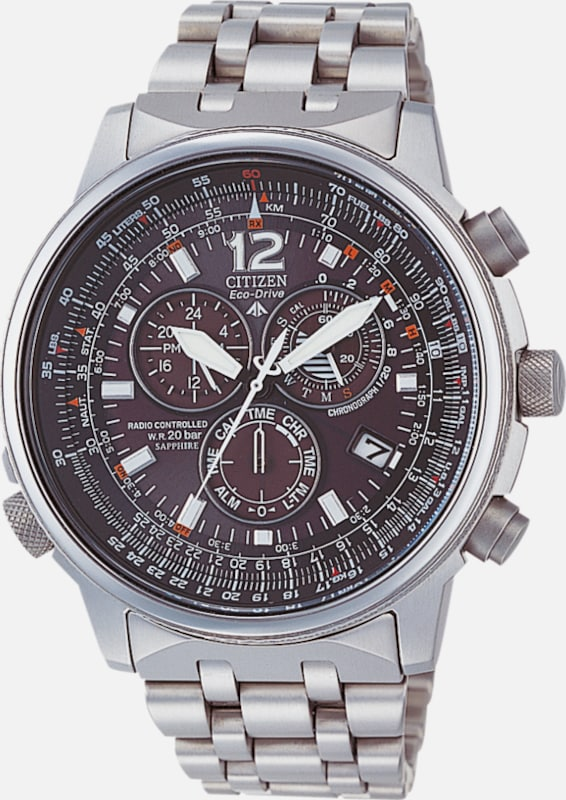 CITIZEN Funkchronograph, 'AS4050-51E' aus Titan