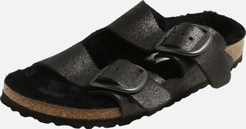 BIRKENSTOCK Pantolette 'Arizona Big Buckle' in schwarz, Produktansicht