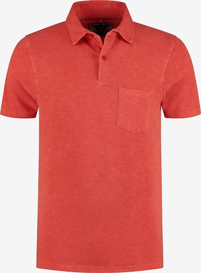 Shiwi Poloshirt in rot: Frontalansicht