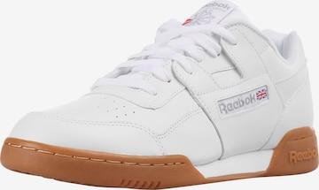 Reebok Classics Sneaker 'WORKOUT PLUS' in Weiß