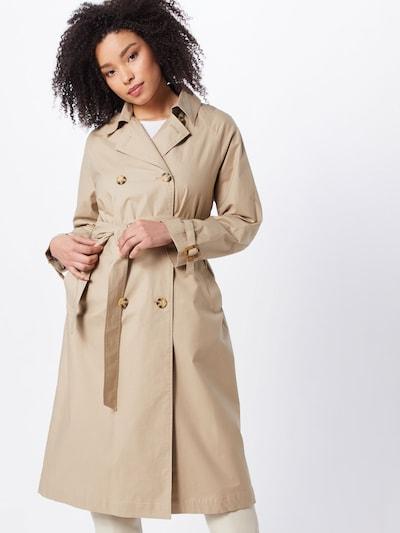 basic apparel Mantel 'Giselle' in khaki, Modelansicht