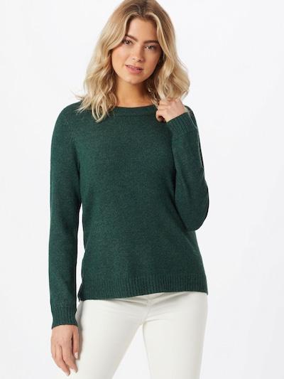 VILA Pullover 'Ril' in dunkelgrün, Modelansicht