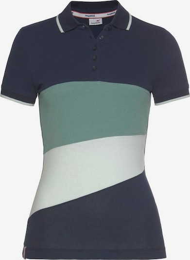 KangaROOS Poloshirt in marine / mint / weiß, Produktansicht