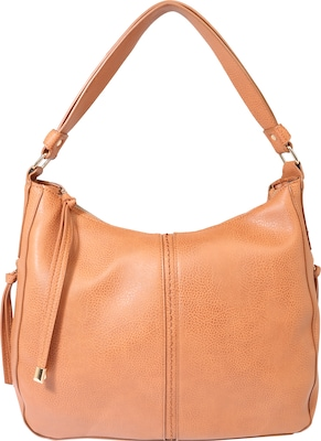 PIECES Hobo Bag 'Pcjustine' in Leder-Optik