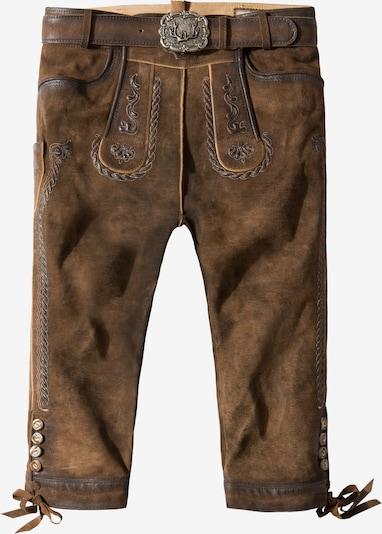STOCKERPOINT Pantalón tradicional 'Johann' en marrón, Vista del producto
