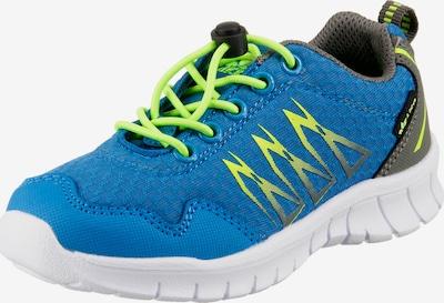 LICO Sneakers 'Mikado' in blau / grau / neongrün, Produktansicht