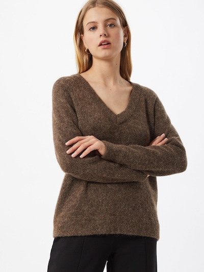 SELECTED FEMME Pullover in braun: Frontalansicht
