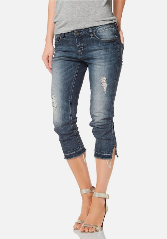 LAURA SCOTT Caprijeans