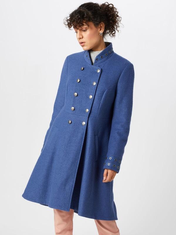 Manteau Mi 'annabell' En Bleu Cream saison sdhtQr